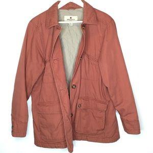 Woolrich Women's Cotton Coat in Cinnamon Size L/XL